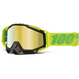 100% Racecraft Anti Fog Mirror Maschera verde